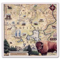 Yellowstone Map Coaster