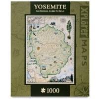 Yosemite Map Puzzle
