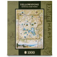 Yellowstone Map Puzzle