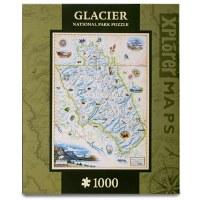 Glacier Map Puzzle