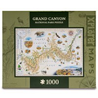Grand Canyon Map Puzzle