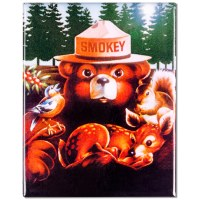 Smokey Bear and Friends Magnet