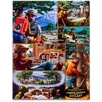 Smokey Jigsaw Puzzle