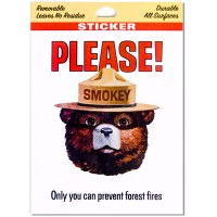 Smokey Please Sticker
