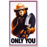 Smokey Only You Sticker