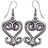 African Sankofa Earrings