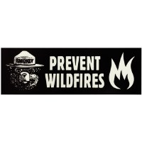 Prevent Wildfires Sticker