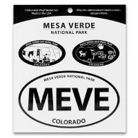 Mesa Verde National Park Triple Decal