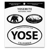 Yosemite National Park Triple Decal