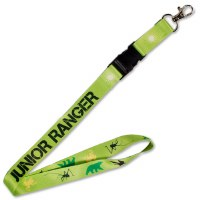 Green Junior Ranger Lanyard
