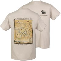 Yellowstone National Park Xplorer Tee - Large