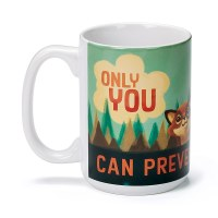 Smoke Bear Only You Mug