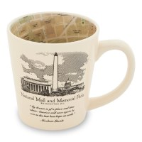 National Mall Map Mug