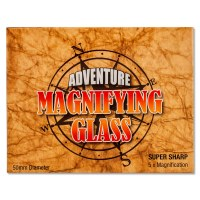 Magnify Glass Adventure Brown