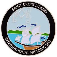 Saint Croix Island Magnet