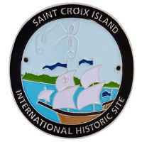 Saint Croix Island Hiking Medallion
