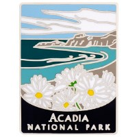 Acadia NP Traveler Pin