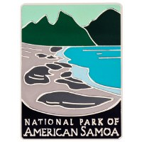 National Park of American Samoa Traveler Pin