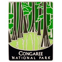 Congaree NP Traveler Pin
