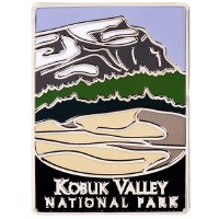 Kobuk Valley NP Traveler Pin
