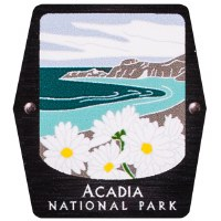 Acadia NP Trekking Pole Decal