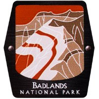 Badlands NP Trekking Pole Decal