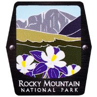 Rocky Mountain NP Trekking Pole Decal