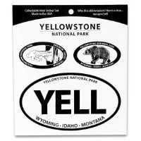 Yellowstone National Park Triple Decal