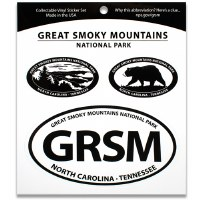 Great Smoky Mountains NP Triple Decal