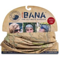 Badlands Map Bana Bandana