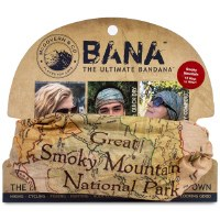 Great Smoky Mountains Map Bana Bandana