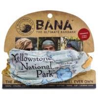 Yellowstone Map Bana Bandana