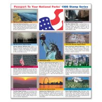 1986 Passport® Stamp Set
