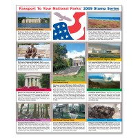 2009 Passport® Stamp Set