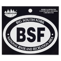 Big South Fork NRRA Vinyl Sticker