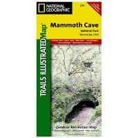 Illustrated Map of Mammoth Cave