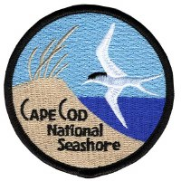 Cape Cod Embroidered Patch