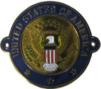 Great Seal of the United States Hiking Medallion