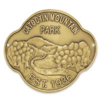 Catoctin Mountain Park Hiking Stick Medallion