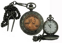 Abraham Lincoln Pocket Watch