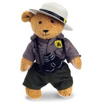 Plush Park Ranger Teddy Bear