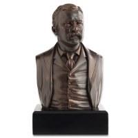 Teddy Roosevelt Bronze Bust