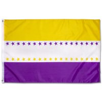 Women's Suffrage 36 Star Flag