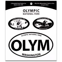 Olympic NP Triple Decal