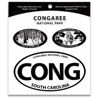 Congaree NP Triple Decal