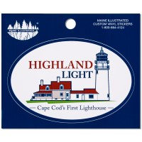 Highland Light Decal