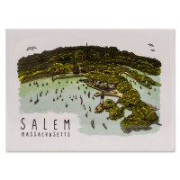 Salem Coastal Map Magnet