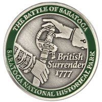 Saratoga Quarter Pin
