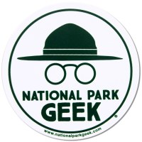 National Park Geek Decal