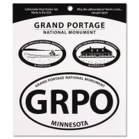 Grand Portage 3 Decal Set